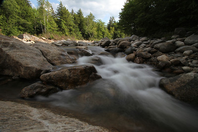 Wild River at White Mountain New Hampshire