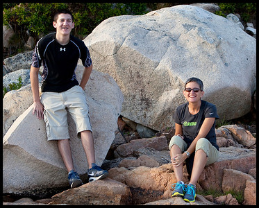 Jake and Kat - Near Bass Harbor Lighthouse
