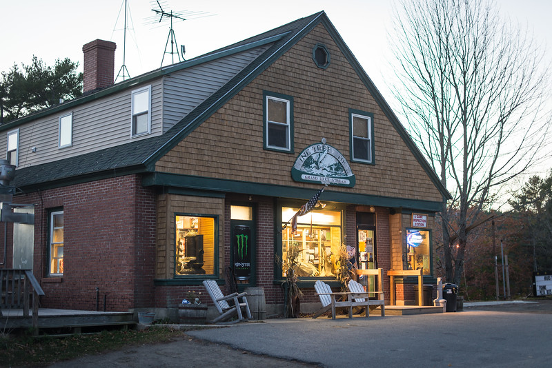 Pine Tree Store, Grand Lake Stream, ME - November 2016