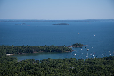 Mount Battie overlooking Camden Harbor/Sherman's Cove