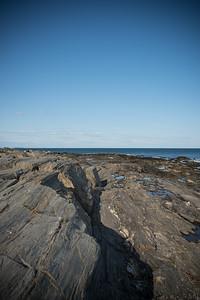 Cape Elizabeth Lighthouse Shoreline