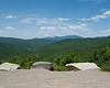 View northwest towards the Bigelow Range