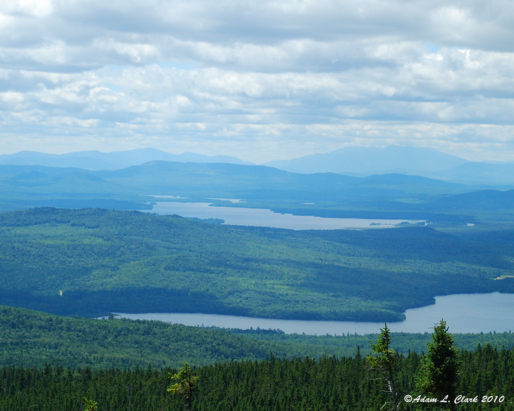 Lake Umbagog from the summit