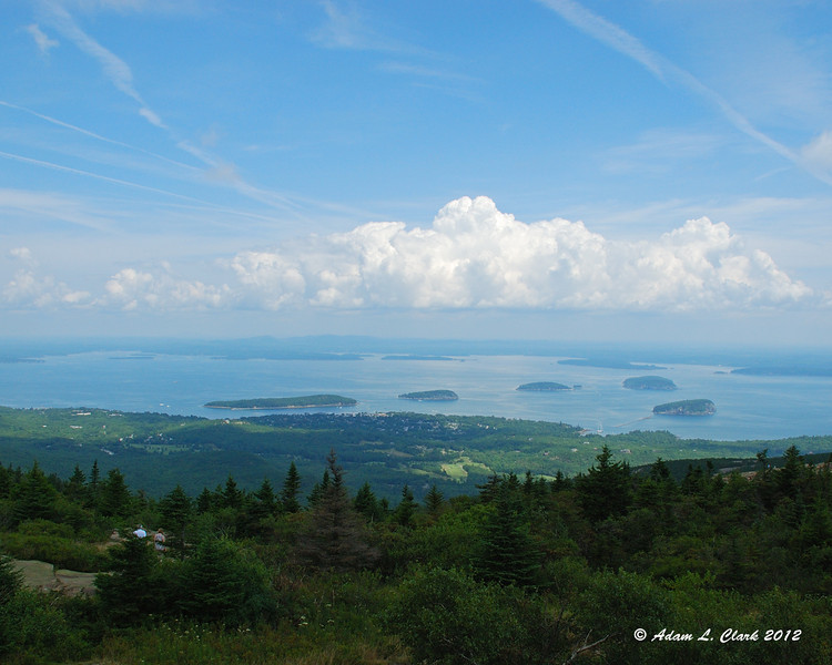 Frenchman Bay from Cadillac Mountain