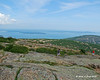 Champlain Mountain and Bar Harbor from Cadillac Mountain