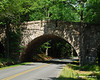 A nice stone bridge on the loop road