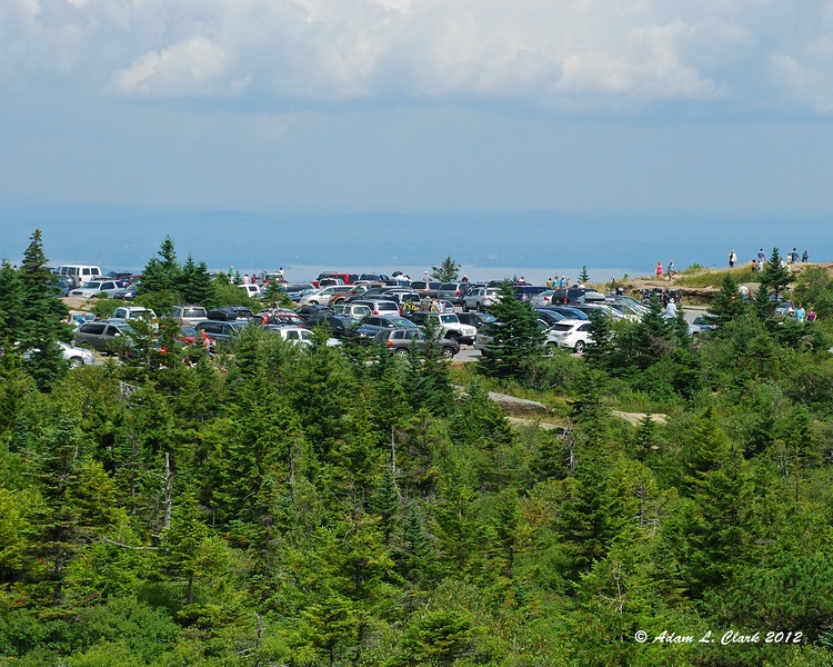 Cadillac Mountain is a very popular place