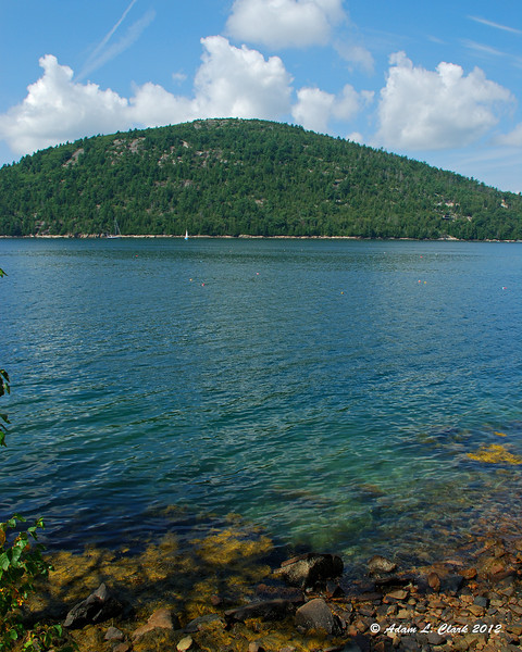Acadia Mountain on the other side of Somes Sound