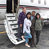 Penny did the route planning for us through central Maine.  Shameem and Sami joined us for the flights out and back, but went their own way through New England visiting family and friends.