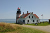Quoddy Head State Park and Lighthouse. Built in 1858 it replaced the 1808 West Quoddy Head Light.