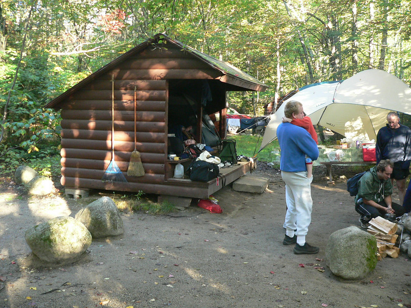 the camp-site