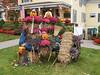Halloween display in Ogunquit
