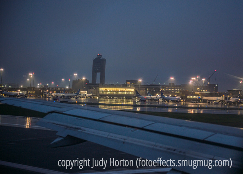 Arrival at Logan in Heavy Fog