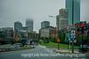 Foggy Downtown Boston
