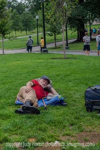 Having a Little Nap in Boston
