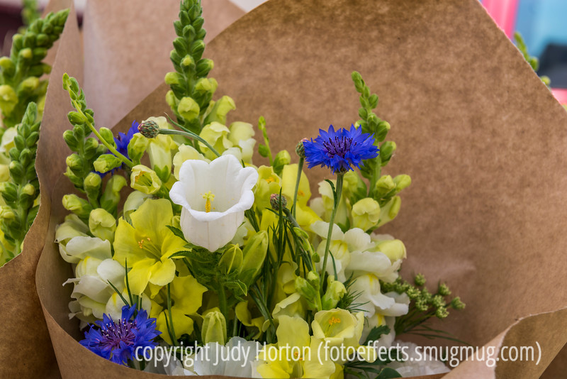 Bouquet at the Farmer's Market