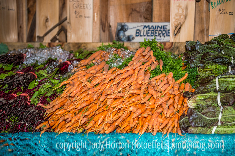 Beets, Carrots and Lettuce