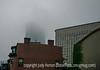 Foggy Morning in Boston Downtown
