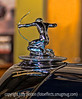 Hood Ornament on an Antique Car