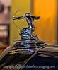 Hood Ornament on an Antique Car