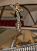 Hood Ornament on an Antique Rolls Royce