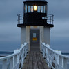 Marshall Point Lighthouse at sunset, Maine, USA