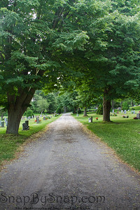 Old Road through a County Cemetery