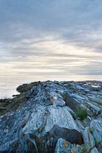 Sunrise on the Rocky Coast of Maine
