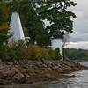 Monday 23-Sept 4:37pm<br /> My first sighting of the lighthouse