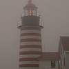 Dick and I were here for less than a 1/2 hr. It wasn't very pleasant weather but nice to catch the lighthouse in the fog!