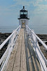 Receding Lines of Marshall Point Lighthouse, Port Clyde, ME