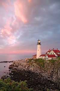 Portland Head Light Painting