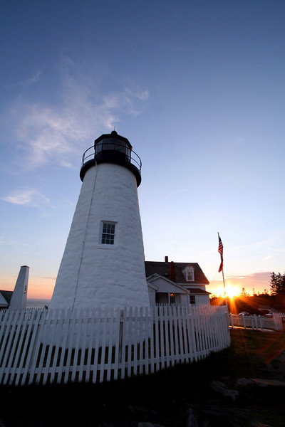 Pemaquid Point Sunset