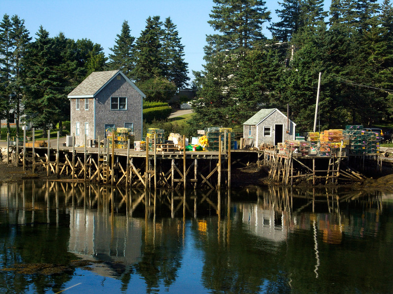 Lobster Trap Dock, Port Clyde, Maine