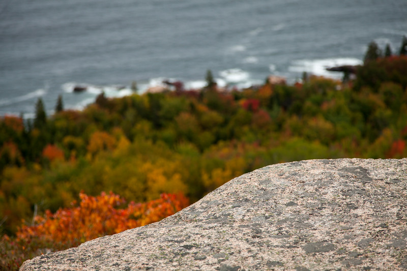 Champlain Mountain, Acadia National Park, Maine, USA