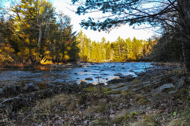 Grand Lake Stream - November 2009