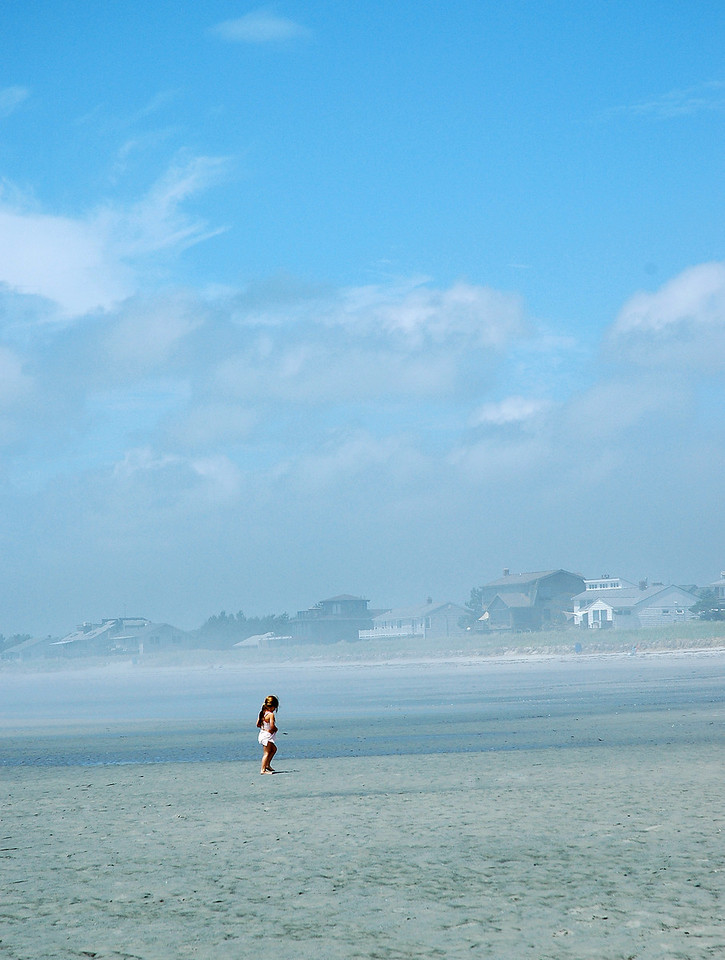 insignificant, girl at old orchard beach aloneDSC_1850