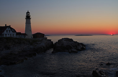 Portland Head Light at Sunrise