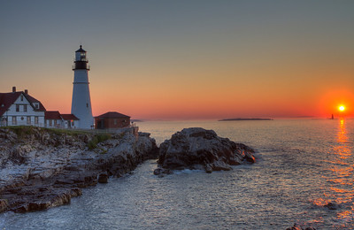 Portland Head Light at Sunrise_2