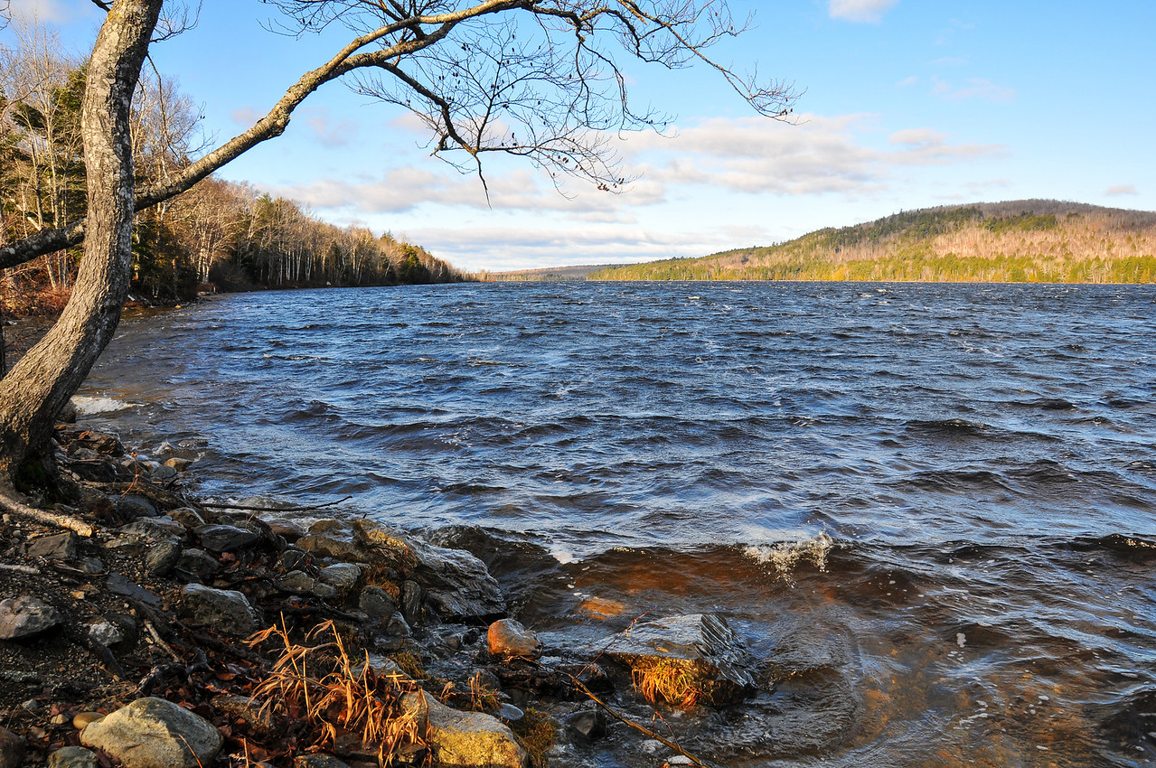 East Musquash Lake, Maine - November 2009