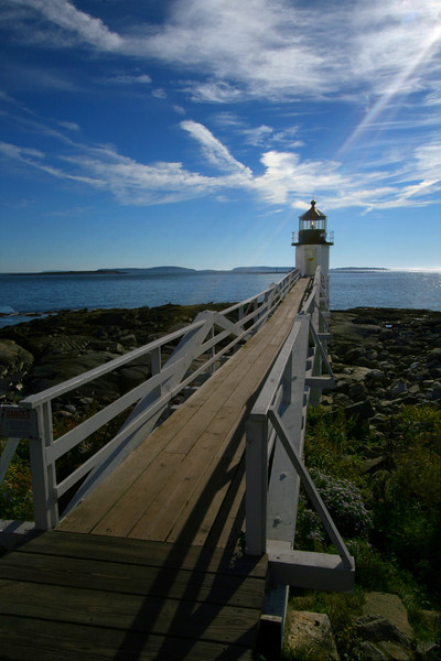 Marshall Point Lighthouse at Point Clyde (Forrest Gump ended his cross-country run here)
