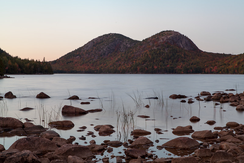 Jordan Pond, Acadia National Park, Maine, USA