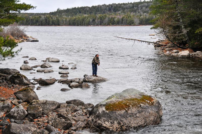 Dinu Iorga - Grand Lake Stream area - November 2009