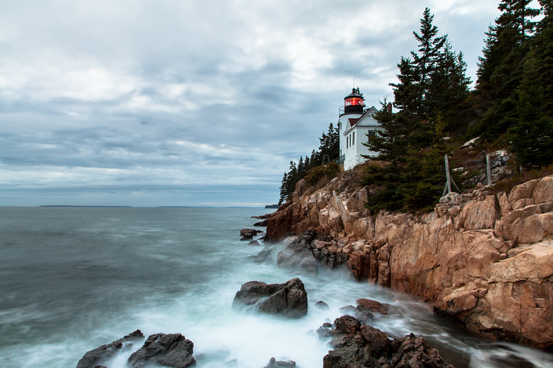 Bass Harbor Lighthouse, Bass Harbor, Maine, USA
