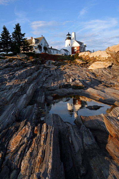 Reflecting pool at Pemaquid Point