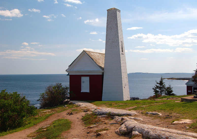 Bell Tower At Permaquid Lighthouse