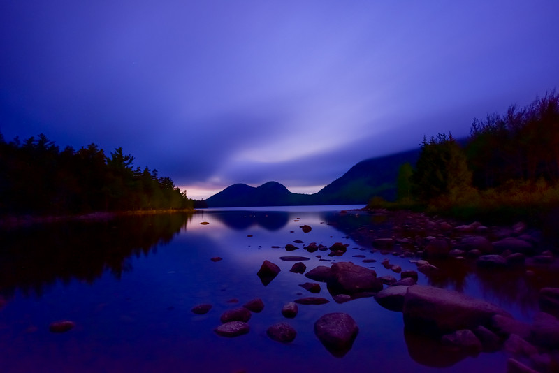 Jordan Pond in Acadia National Park