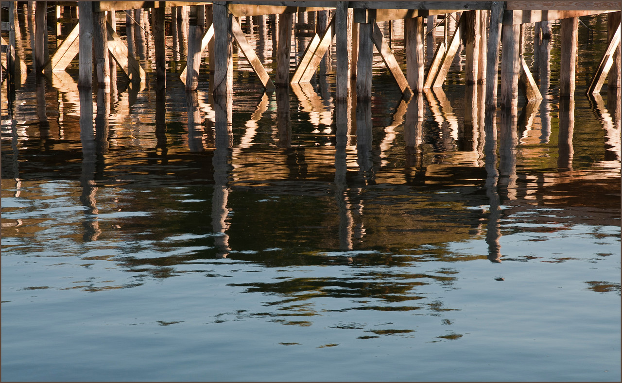 Pier Reflections II