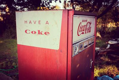 Oldtimer Coca-Cola