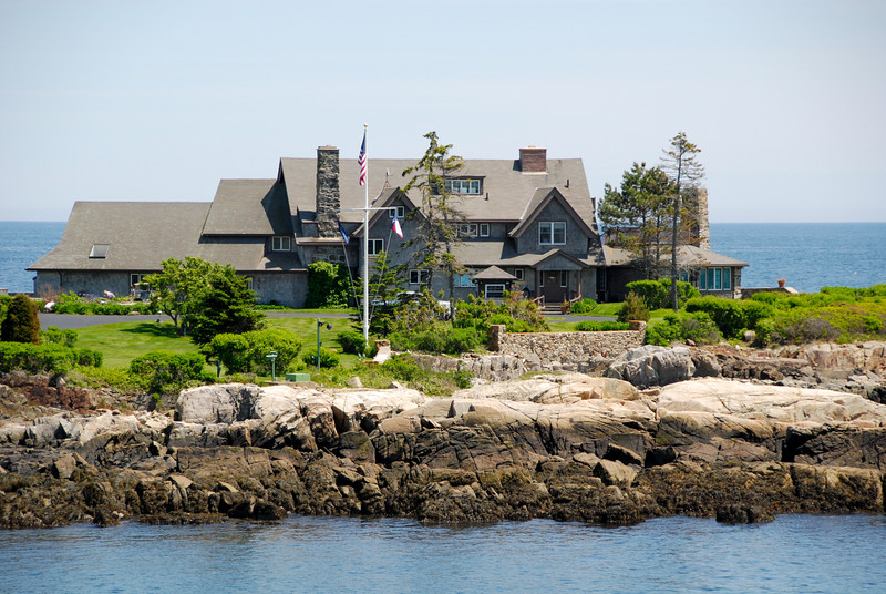 "<span id=""title"">Bush Compound</span> The Bushes don't have a home. They have a compound. Notice the lobster trap buoys."